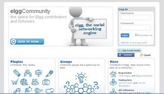 elgg social networking software