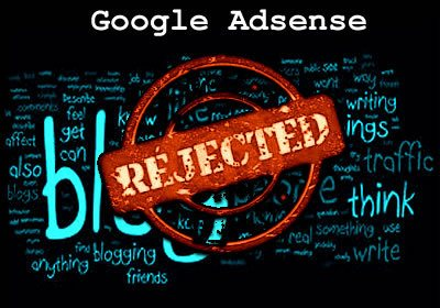 google adsense application disapproved ikh0ve