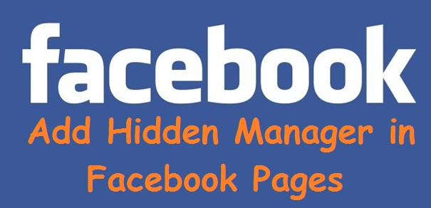 How to Create Hidden Manager in Facebook Business Pages