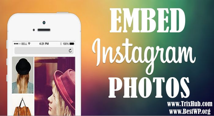 How to Embed Instagram Photos into WordPress Without Using Any Plugin