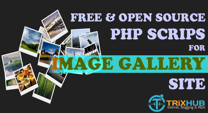 PHP Image Gallery Scripts