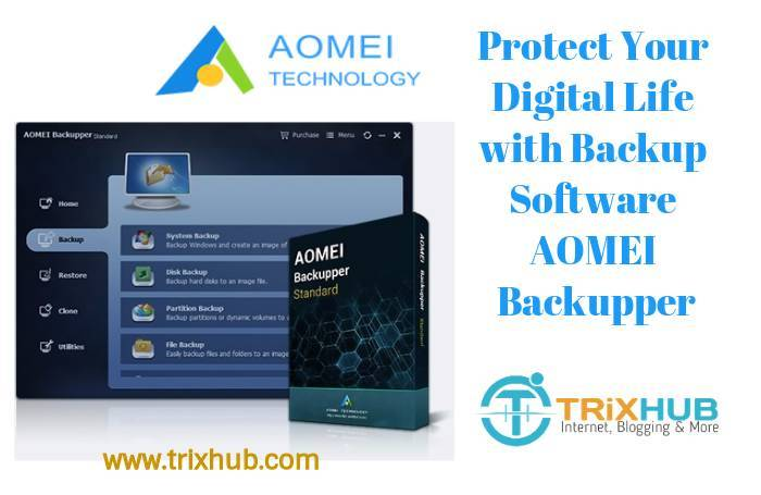 Protect Your Digital Life with the User-friendly Backup Software AOMEI Backupper